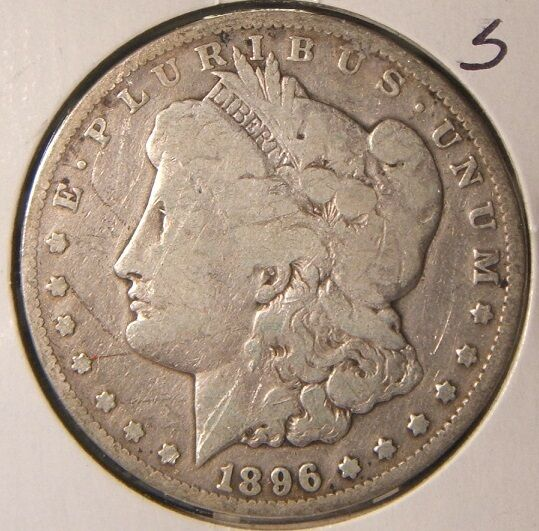 1896 S Morgan Silver Dollar Fine Beauty Rare Ebay