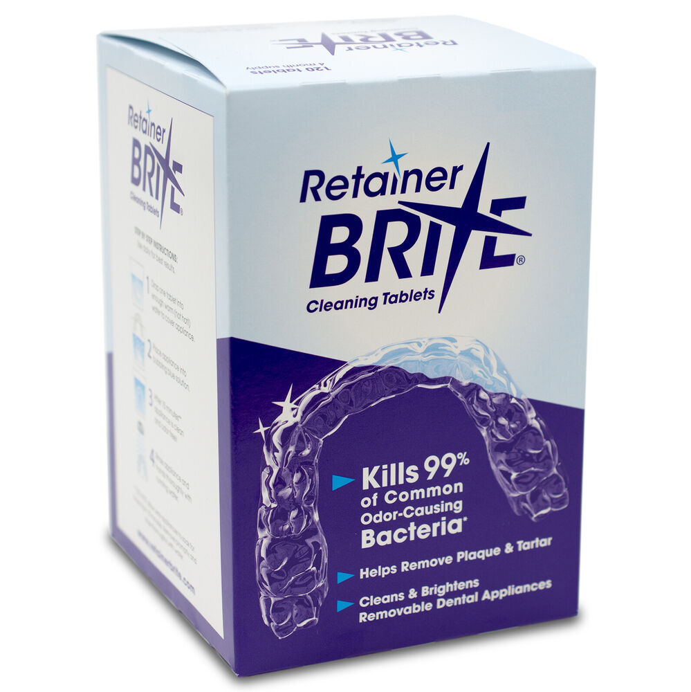 Retainer Brite Cleaning Tablets 96 Tablets 3 Months Supply Free ...: www.ebay.com/itm/RETAINER-BRITE-CLEANING-TABLETS-96-Tablets...