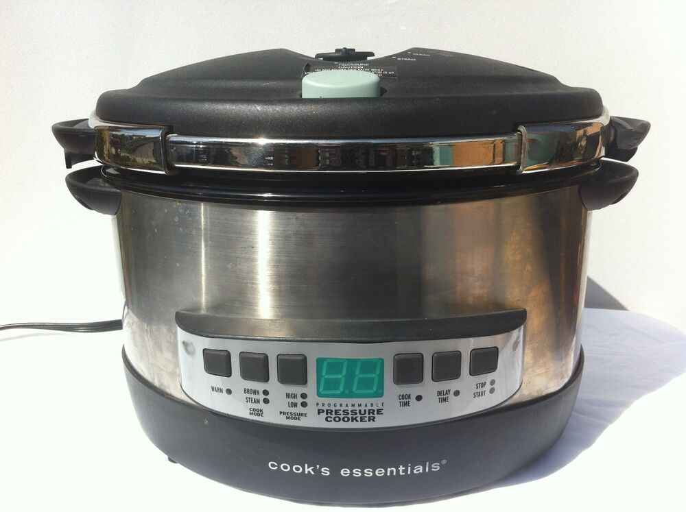 Cooks Electric Pressure Cooker ~ Qvc cook s essentials qt oval electric pressure cooker