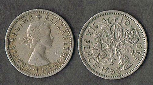 how to clean a sixpence coin
