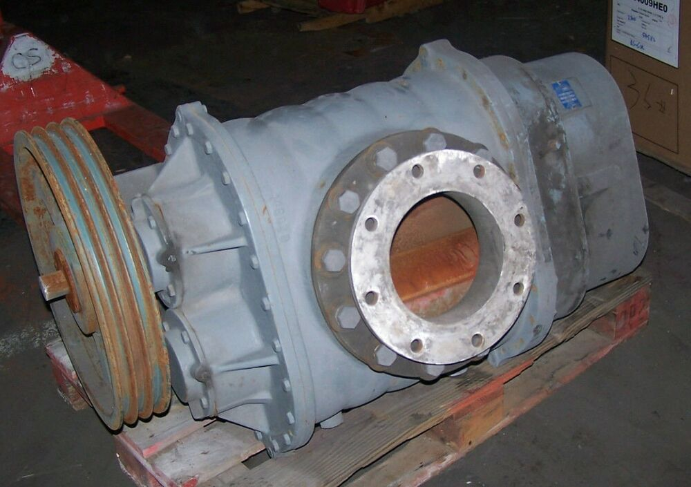 Industrial Blower Parts : Roots rotary lobe blower quot port shaft model