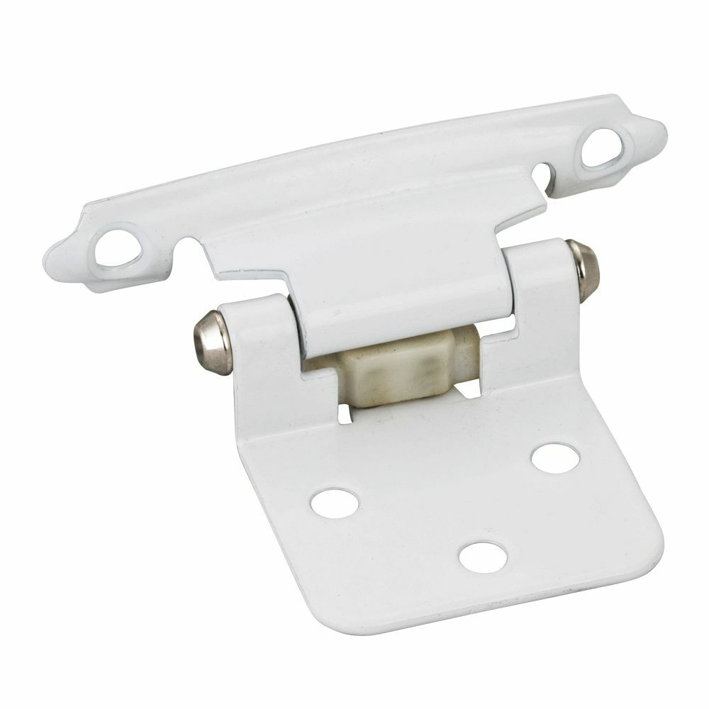 self closing door hinges for kitchen cabinets 25 pair white flush self closing cabinet door hinges 25912