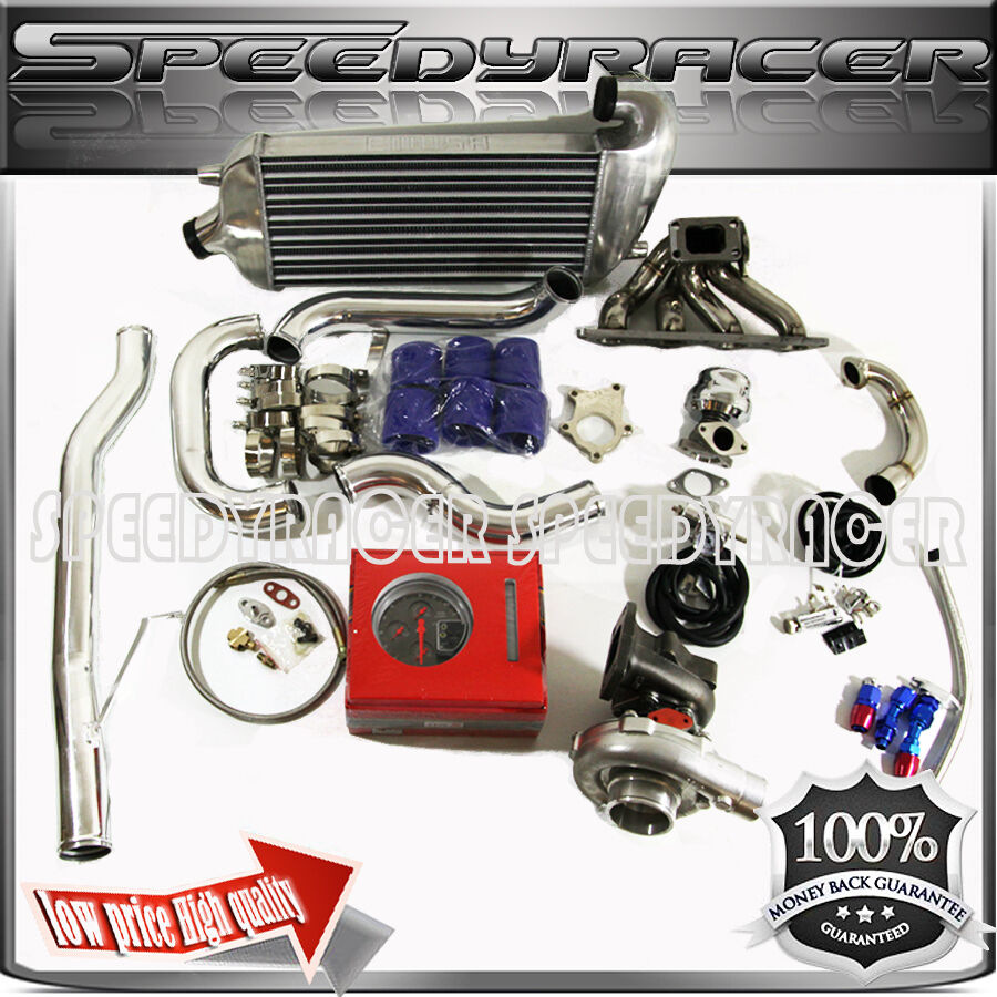 95-99 Mitsubishi Eclipse T3/T4 Turbo Kit DSM 2G 4G63