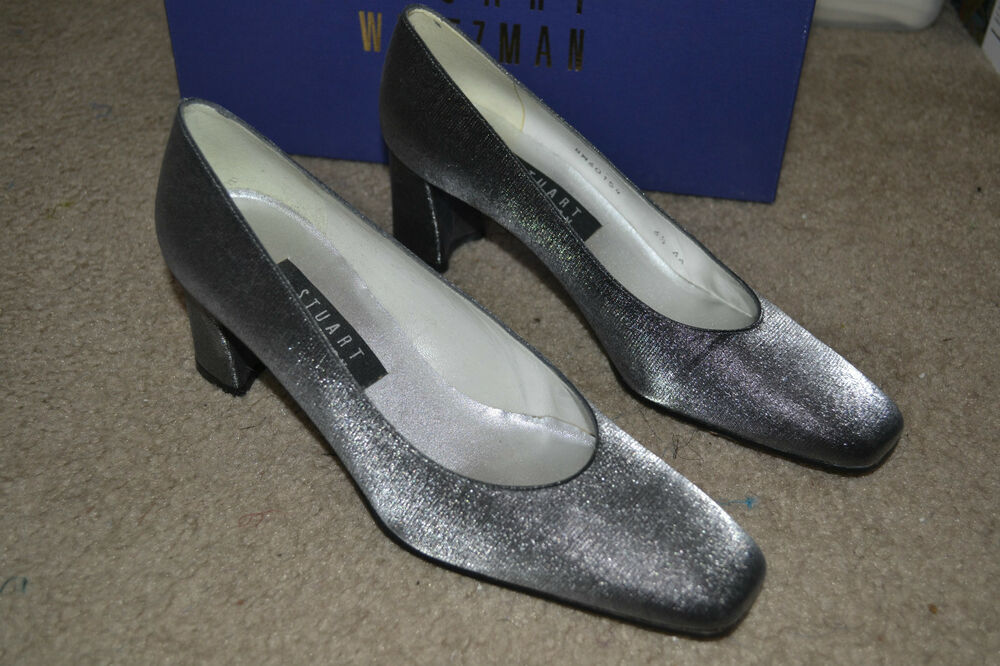 Buy Pewter Evening Shoes