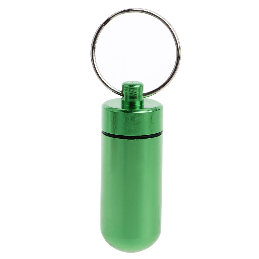 Waterproof small pill tablet medicine storage box bottle for Small pill bottles