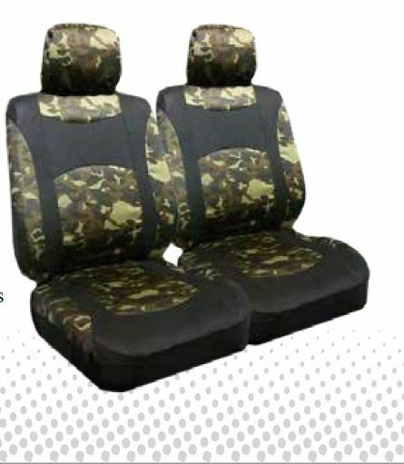 Camo Low Back Bucket Seat Covers Pair Ebay