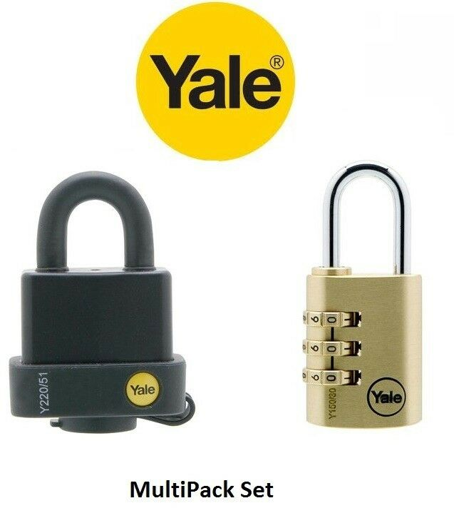 Yale Laminated Steel Padlock With Cover Amp Brass Yale
