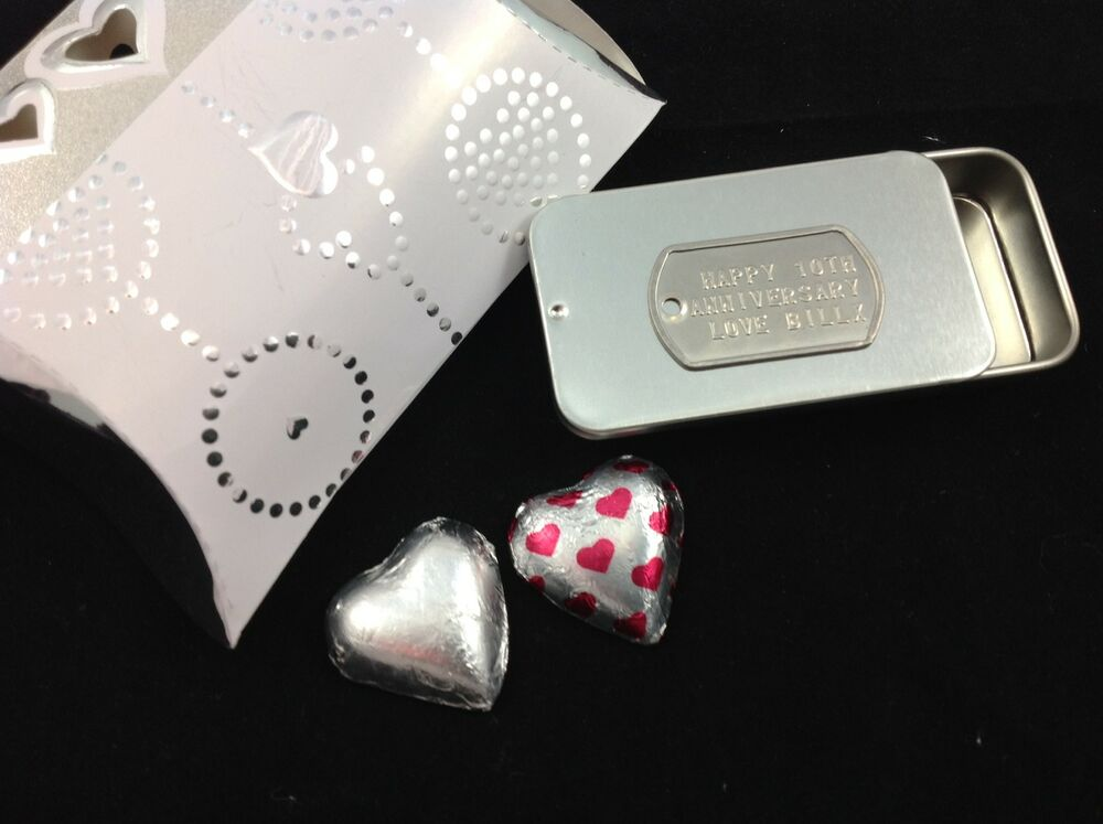... BOX 10TH ANNIVERSARY WEDDING VALENTINES ENGAGEMENT GIFT STORAGE eBay