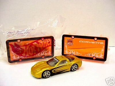 Avon hot wheels highway 35 set gold corvette in box ebay - Avion hot wheels ...