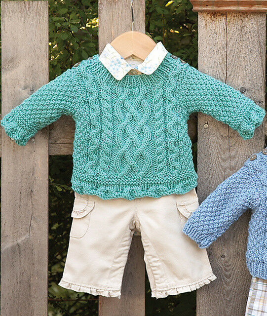 Free Knitting Pattern For Scalloped Edge : Babys First Aran 6 -24 mths Scalloped edge for Girls Version Knitting Pa...