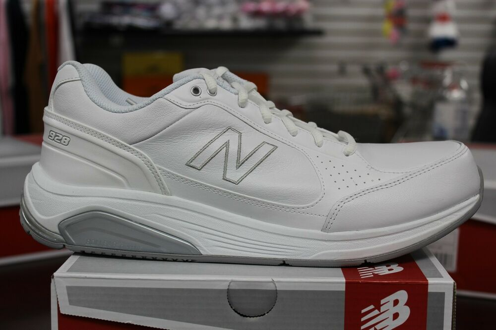 New Balance Men S Walking 928 Mw928wt White Wide Available