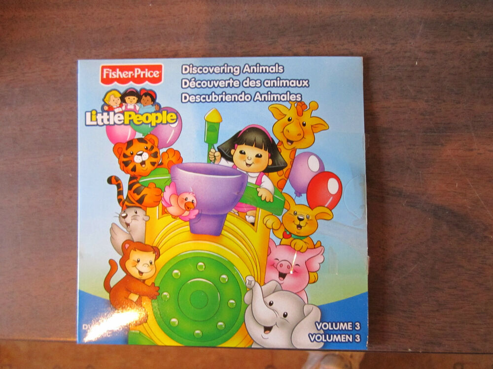 Fisher Price Little People Discovering animals zoo train dvd volume 3 5 stories | eBay
