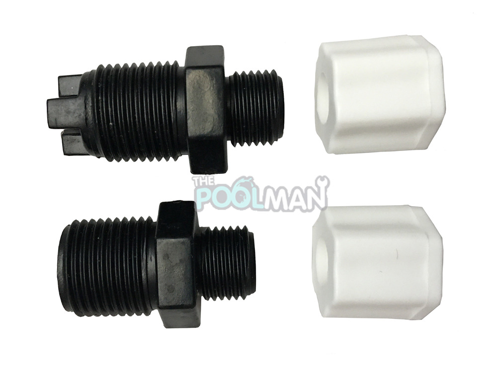 Replacemen t check valve compression nuts inlet fitting