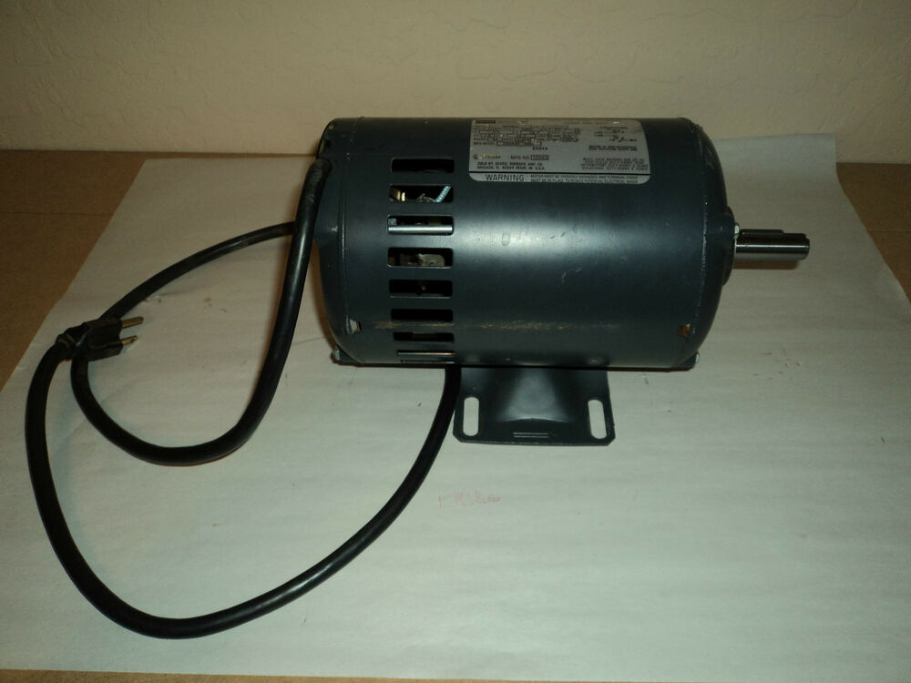Craftsman belt drive table saw motor 1 1 16 hp ebay for 1 hp table saw motor