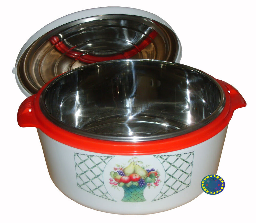 Hot Pot Food Insulated Casserole Food Serving Dish 2.5 - 3 ...