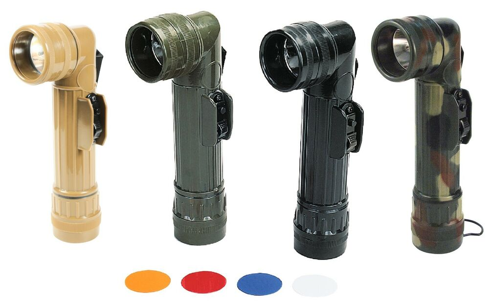 G.I. Type D-Cell Flashlights