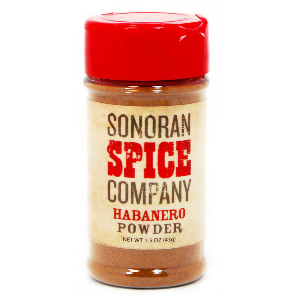 Habanero Powder, Pure 1.5 oz. - Ships in 2 business days ...