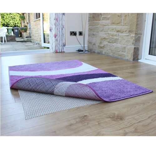 Jvl rug safe carpet gripper for hard floors 120 x 180cm for Rugs for laminate floors