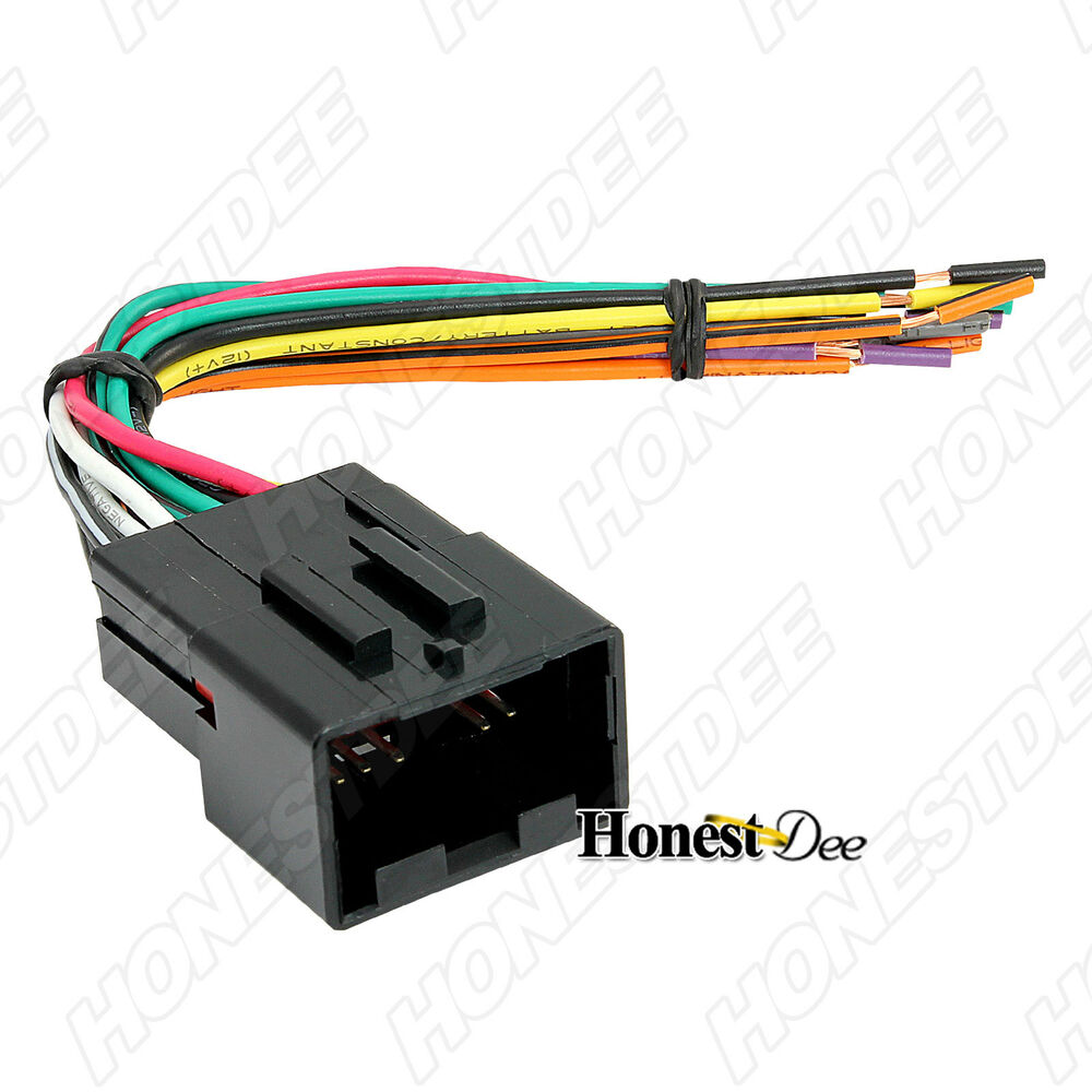 Wiring Harness To Car Stereo : Aftermarket car stereo radio to ford wiring wire harness
