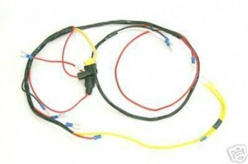 ford 8n 6 volt wiring diagram ford naa jubilee tractor 6v generator wiring harness ...