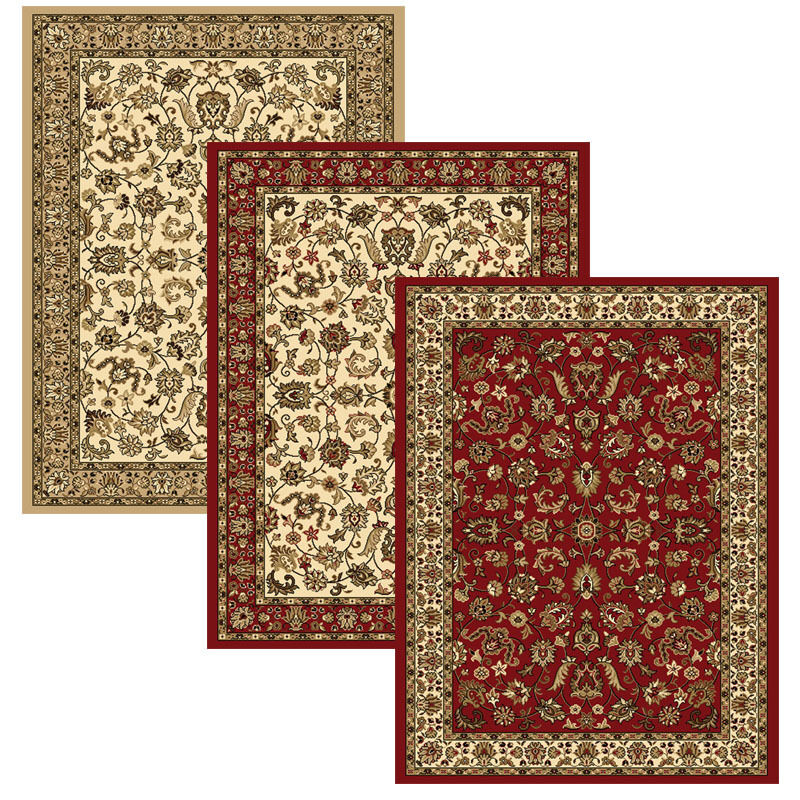 Traditional Floral Area Rug 8x11 Border Vines Oriental