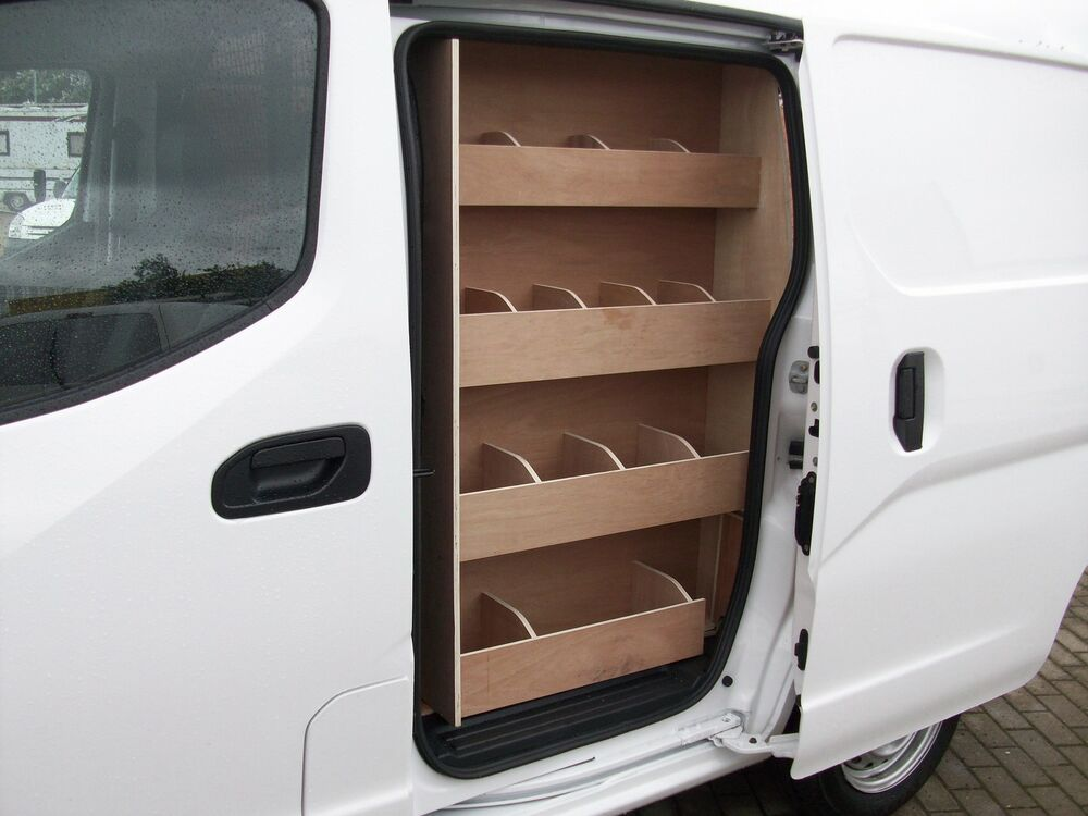 Nissan Nv200 Side Door Storage Accessories Plywood Van