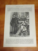 Print 135 yrs old Mary Queen of Scots in Imprisonment (also available framed)