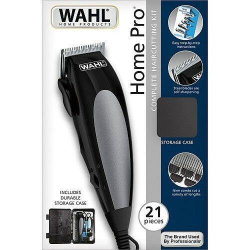 wahl home haircutting kit wahl 21pc home pro complete hair cutting kit clippers 4093