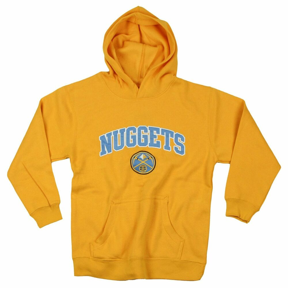 Denver Nuggets Nba Basketball Youth Hoodie Hooded