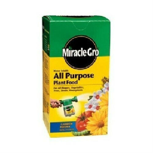 New 1000282 miracle gro all purpose plant food 3 lb ebay - Miracle gro all purpose garden soil ...