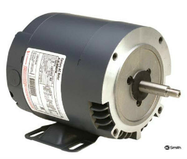 H047 1 1 2 Hp 1725 Rpm New Ao Smith Electric Motor Ebay