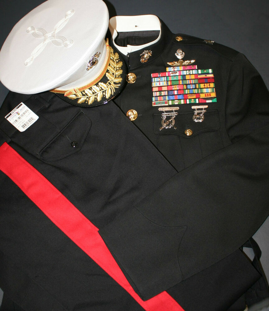 USMC Marine Corps RECON General Officer Dress Blues ...