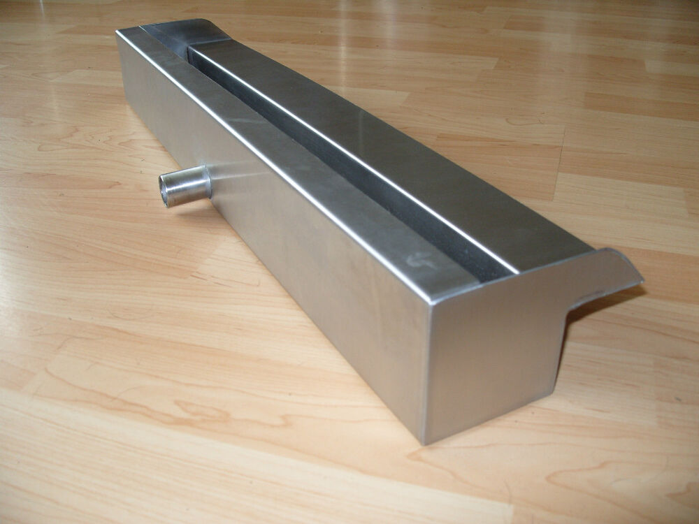 Stainless Steel Waterfall Blade 700mm 27 X70mm 3 Spout