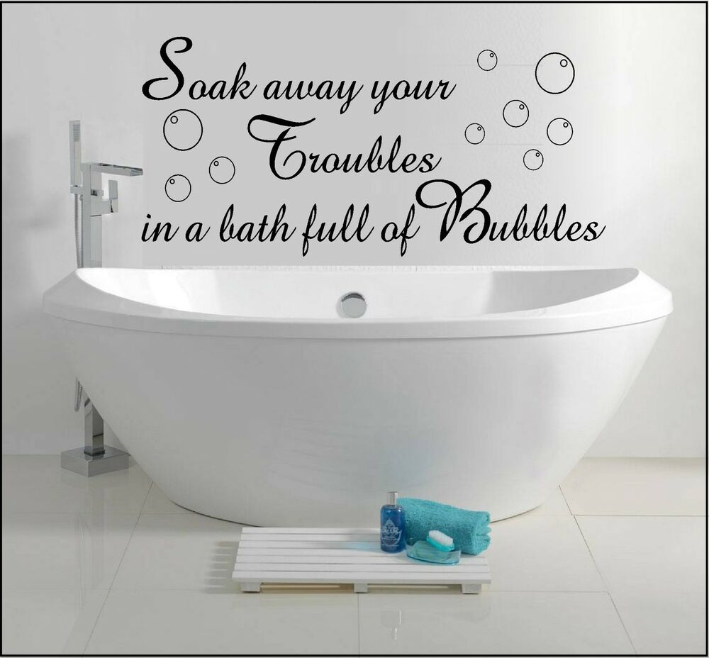 Bathroom Sayings For Walls