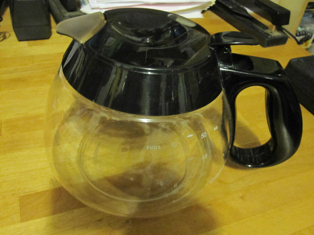 Coffee Maker Pot Replacement : CUISINART 10 CUP / 50oz. GLASS CARAFE COFFEE POT MAKER REPLACEMENT PART eBay