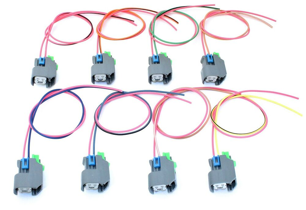 gm ls9 coil wiring gm ls coil wiring ev6 fuel injector connector pigtail wiring set of 8 ls2 ...