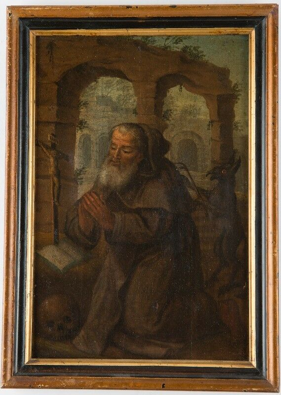 antique old master oil on panel painting northern european 16th century ebay. Black Bedroom Furniture Sets. Home Design Ideas