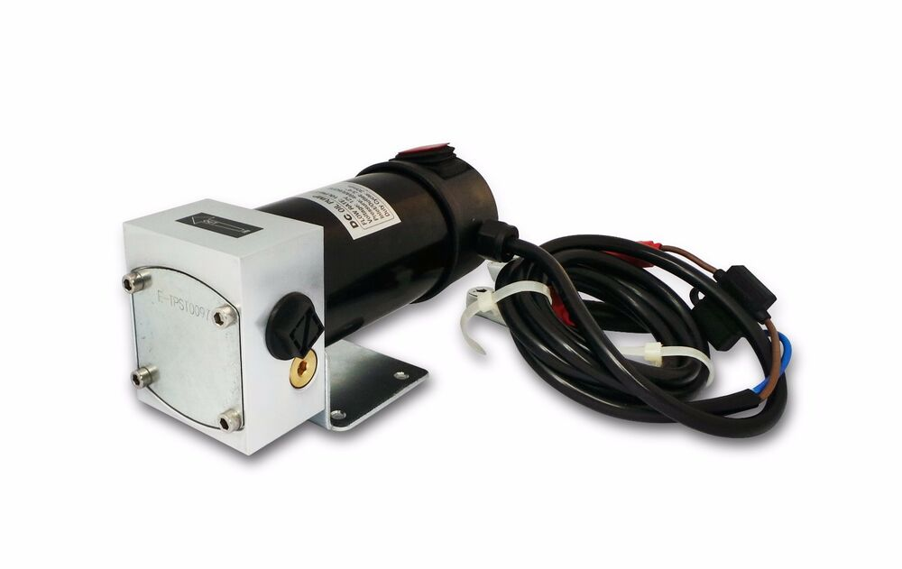 Electric oil gear pump 10lpm 12v dc engine motor for Grease for electric motors