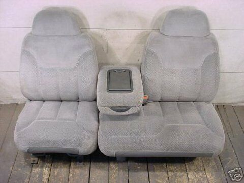 Exact seat covers 1995 2000 chevy gmc truck front 60 40 - 1997 chevy silverado interior parts ...
