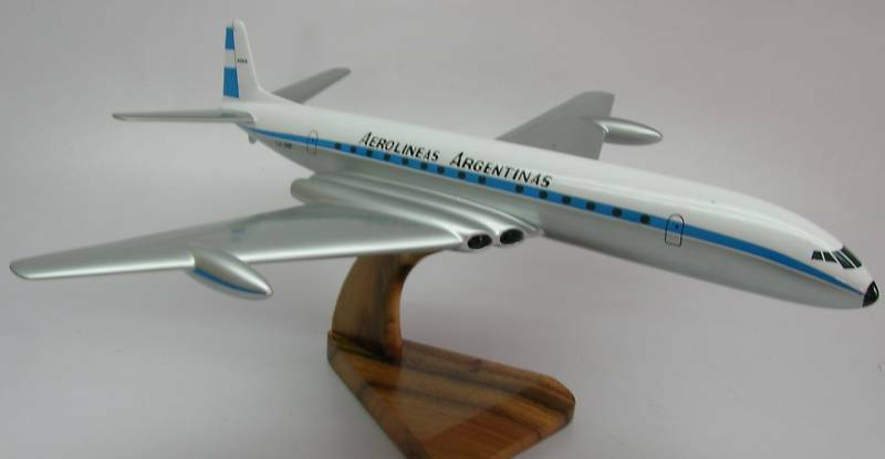 Details about  DH-4 De Havilland Comet 4 Airplane Wood Model Replica SML Free Shipping