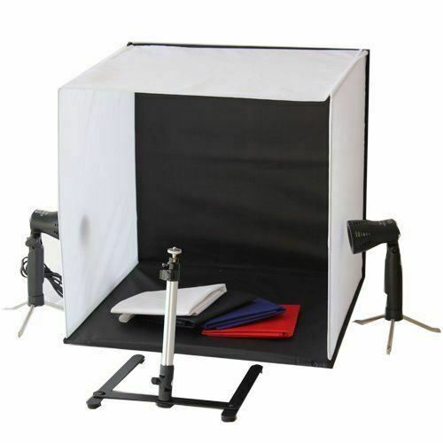Optex Photo Studio Lighting Kit Review: Mini Portable Photo Studio Lighting Kit (Cube/Tent) LED