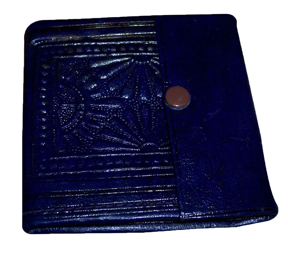Credit Coin: MOROCCAN HANDMADE GENUINE CREDIT CARD LEATHER COIN WALLET