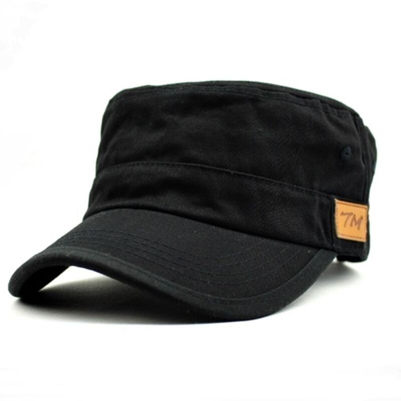 uk seller mens womens heavy washed military cadet caps