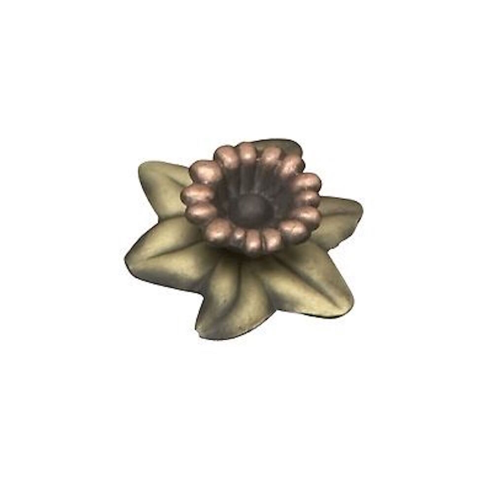 Flower Furniture Hardware Drawer Pull Metal Flower Knob Ebay