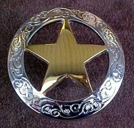 Western Knob Star Cabinet Hardware Knobs Cp208ng Ebay