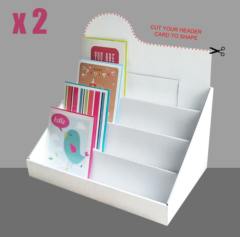 Greeting Card Display Stand (X2)