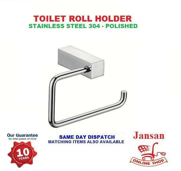 Stainless Steel Chrome Designer Wall Mount Toilet Roll