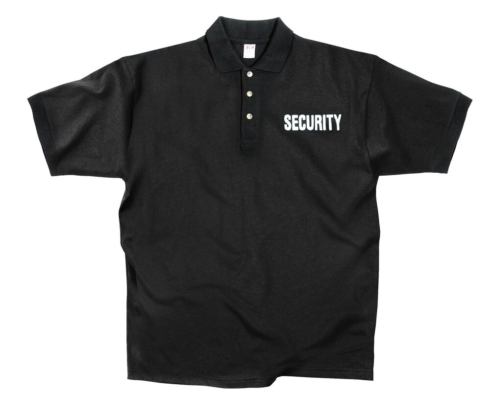 Black 39 Security 39 Shirt Black Moisture Wicking Security