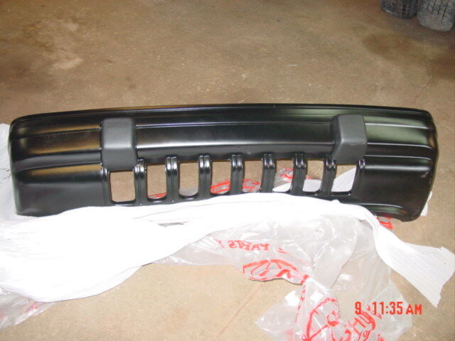 Grand Cherokee Accessories >> 93-95 Jeep Grand Cherokee black front bumper paintable