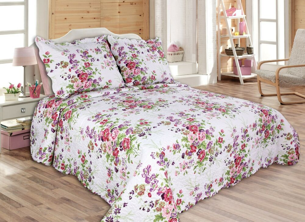 41 All For You 3pc Quilt Set Bedspread Coverlet Twin